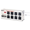 Tripp Lite Isobar Surge Suppressor Block, 8 Outlets, 12