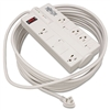 Tripp Lite TLP825 Surge Suppressor, 8 Outlets, 25 ft Co