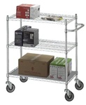 Adjustable Utility Cart 18x48 w/Solid Top or Bottom S