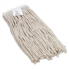 UNISAN Cut-End Wet Mop Head, Cotton, #16 Size, White #