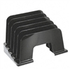 Universal Large Incline Sorter, 5 Sections, Plastic, 13