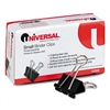 Universal Small Binder Clips, Steel Wire, 3/8 Capacity
