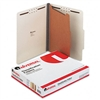 Universal Pressboard Classification Folder, Letter, 4-S