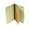 Universal Pressboard Classification Folder, Legal, 4-Se