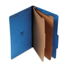 Universal Pressboard Classification Folders, Lgl, 6-Sec