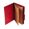 Universal Pressboard Classification Folders, Legal, 6-S
