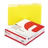 Universal Colored File Folders, 1/3 Cut, One-Ply Top Ta