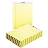 Universal Perforated Edge Writing Pad, Legal/Margin Rul
