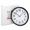 Universal Indoor/Outdoor Clock, 13-1/2in, Black # UNV11