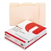 Universal File Folders, 1/3 Cut Assorted, One-Ply Top T
