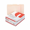 Universal File Folders, 1/3 Cut Assorted, Two-Ply Top T