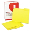 Universal Colored File Folders, 1/3 Cut Assorted, Two-P