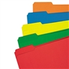 Universal Colored File Folder, 1/3 Cut Assorted, Two-Pl