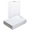 Universal Perforated Edge Writing Pad, Wide/Margin Rule