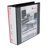Universal Economy D-Ring Vinyl View Binder, 3in Capacit