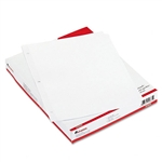 Universal Economy Tab Dividers, Five-Tab, Letter, White