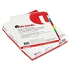 Universal Insertable Index, Multicolor Tabs, Eight-Tab,
