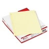 Universal Insertable Index, Clear Tabs, Eight-Tab, Lett