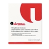 Universal Extended Insert Indexes, Eight Clear Tabs, Le