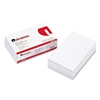 Universal Scratch Pads, Unruled, 5 x 8, White, 12 100-S