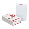 Universal Colored Perforated Note Pads, Wide Rule, 5 x