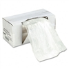 Universal Recycled/Recyclable 3-Ply Shredder Bags, 18w