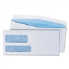 Universal Double Window Business Envelope, #9, White, 5