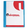 Universal Report Cover, Tang Clip, Letter, 1/2 Capacit
