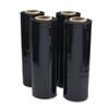 Universal Black Stretch Film, 18w x 1,500' Roll, 20 Mic