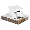 Universal Economy Storage File, Lift-Off Lid, Ltr/Lgl,