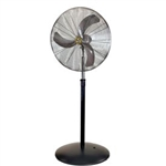 Airmaster Fan UP30LF16-S 30 Inch Pedestal Fan 1/3 HP 8400 CFM , Non-Oscillating