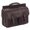 SOLO Laptop Portfolio, Leather, 16-1/2 x 4-3/4 x 13, Es
