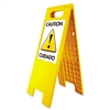 U.S. Stamp & Sign Floor Tent Sign, Doublesided, Plastic