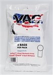 Perfect 6 qt Backpack Vacuum Bags (9 pack) VAC19