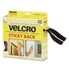 Velcro Sticky-Back Hook & Loop Fasteners w/Dispenser, 3