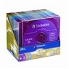 Verbatim CD-RW Discs, 700MB/80min, 4x, Slim Jewel Cases