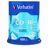 Verbatim CD-R Discs, 700MB/80min, 52x, Spindle, Silver,