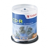 Verbatim CD-R Discs, 700MB/80min, 52x, Spindle, White,