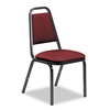 Virco Vinyl Upholstered Stacking Chair, 18 x 22 x 34-1/
