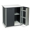 Vertiflex Refreshment Stand, 2-Shelf, 29-1/2 x 21 x 33-