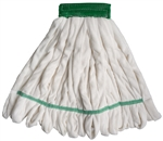 Microfiber Tube & Blend White Large Mop Head WHT-LG