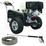 BE Pressure X-3513HWBCATCD Pressure Washer 13HP 3500PSI CAT 5CP Pump, X-3513HWBCATCD