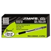 Zebra Jimnie Gel Stick Roller Ball Pen Bonus Box, Smoke