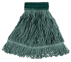 "Blend Mop, Medium, 18 oz, 6"" Headband, Green"