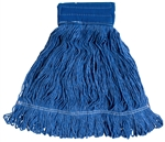 "Blend Mop, Large, 24 oz, 6"" Headband, Blue"