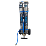 "Pure Water Power 4-Stage RODI Water Purification System, Dual RO, 20"" DI"