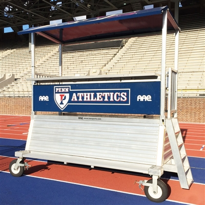 Donkey 2 Portable 4 High Elevated Press Box With Storage