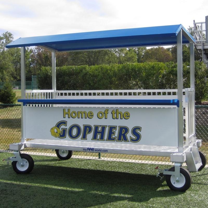 High School Baseball Press Box Design