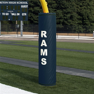 "Football Goal Post Pad for 6"" post diameter"