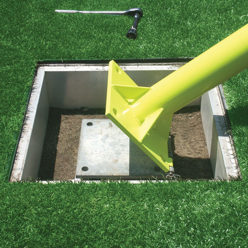 Pro Hinged 6 Offset Football Goal Post